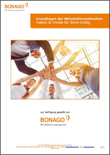 Broschüre Mitarbeitermotivation