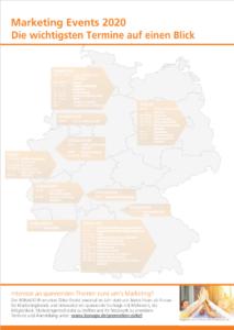 Eventübersicht Marketing 2020 Deutschland