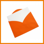 Orangener Brief
